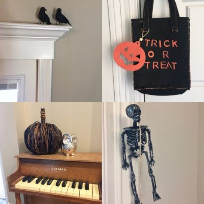 halloween in the house